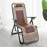 PARTAS Cubierta for Tomar el Sol al Aire Libre Daze Silla de jardín Plegable Silla sillas Loungers Gravedad Cero, con los pies Antideslizantes