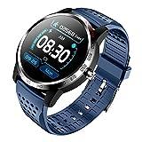 ZGNB W3 Reloj inteligente para hombre Rastreador de fitness para hombre y mujer, dispositivo portátil con presión arterial, monitor de frecuencia cardíaca, pulsera de detección de ECG (F)