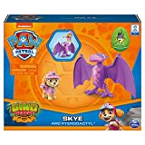 Paw Patrol, Dino Rescue Skye and Dinosaur Action Figure Set, for Kids Aged 3 and up