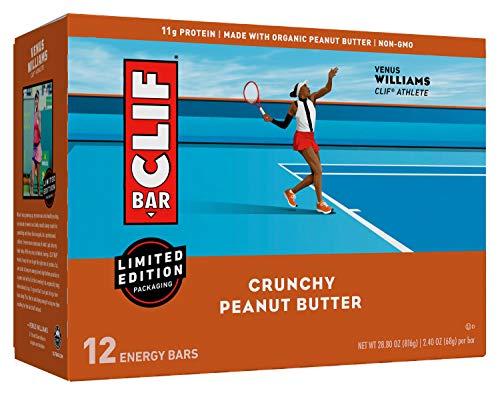 Clif Bar Builders Crunchy Peanut Butter 24 Ounce 12 Pack