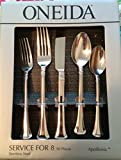 Best Oneida Flatware Sets - Oneida Apollonia 50-Piece Flatware Set, Service for 8 Review