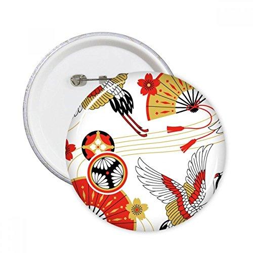 DIYthinker Modelo de la grúa plegable del ventilador Sakura pernos redondos insignia...