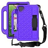 Tablet PC Bolsas Bandolera Tablet Funda para la pestaña Lenovo M8 TB-8505 (8.0 '), Cuerpo lleno de niños a prueba de golpes ligeros EVA Tapa protectora del soporte de la manija y la correa para el hom