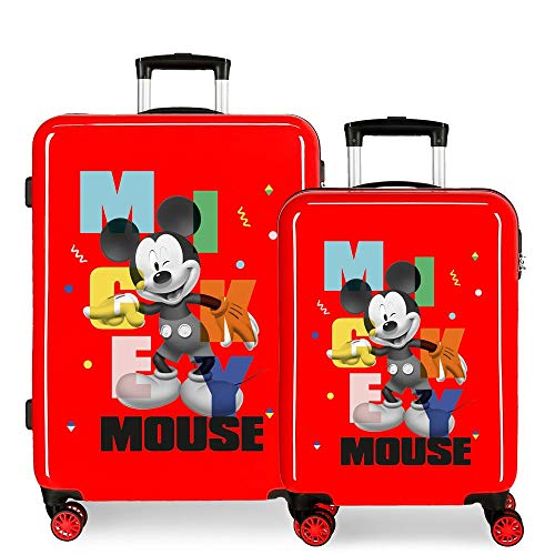 Disney Mickey Party Suitcase Set, 55/68 cm
