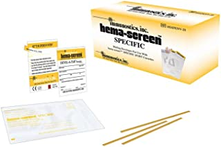 hema-screen Specific Mailing Envelopes, for use with hema-screen Specific Fecal Occult Blood Tests, CLIA Waived, HSSPENV (Box of 20)
