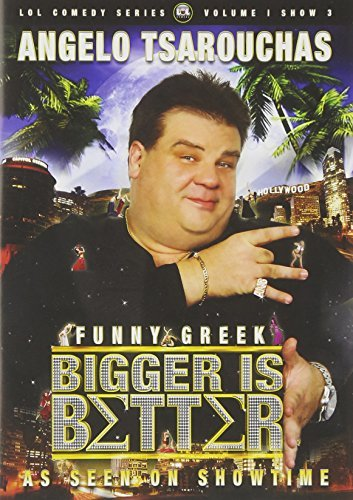 Bigger Is Better Angelo Tsarouchas by Angelo Tsarouchas