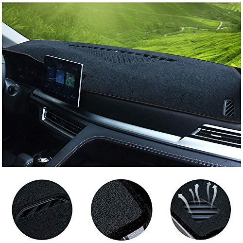 SureKit Car Custom Dash Cover for Lincoln MKZ 2010-2012, 2013-2020 Auto Dashboard Pad DashMat Dash Board Cover (Black line)