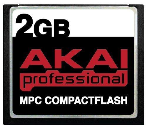 Akai MPC CompactFlash CF Speicherkarte für MPC500, MPC1000, MPC2500, MPC5000 (2 GB)