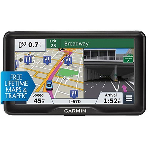 Garmin nuvi 2797LMT 7-Inch Portable Bluetooth Vehicle GPS with Lifetime Maps and Traffic (Renewed)
