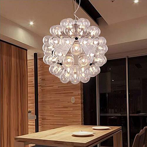 Plafondlamp Creative Luxe Paardebloem Bubble Kandelaar woonkamer eetkamer slaapkamer hotel paviljoen Villa decoratieve verlichting (50 x 50 x 50 cm)