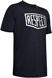 Under Armour Men's Project Rock Graphic Respect Ss T-Shirt
