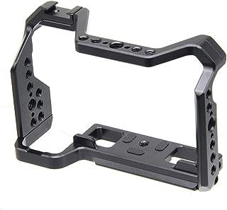 SLR kameraskyddsram för Fujifilm X-s10 kaninburskydd för kamera (svart)