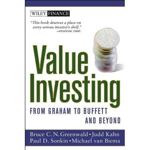 Value Investing From Graham To Buffett And Beyond Pdf