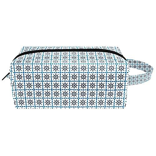 Reise-Make-up-Tasche Große Kosmetiktasche,Ruder Navy Blue. ,Make-up-Tasche Organizer für Frauen und Mädchen
