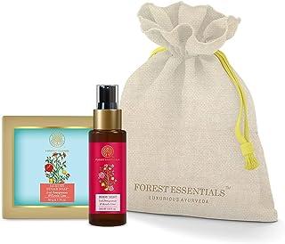 Forest Essentials Refreshing Summer Body Care Duo 100g (Luxury Sugar Soap + Body Spray)