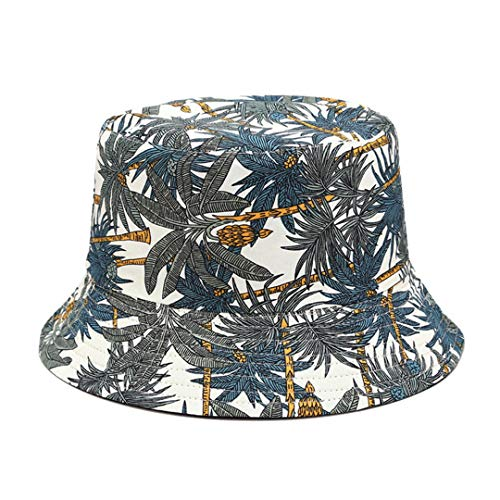 ☞COCONUT TREE PRINT, tropical pattern all over this bucket hat, makes you more attractive and charming among the crowd. It is great for travel, beach, vacation, trip, outdoor activities, street strolling, fishing for the sun protection headwear ☞PACK...