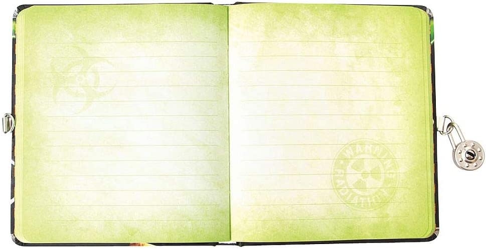 Playhouse Radioactive Glow in The Dark Lock /& Key Lined Page Diary for Kids