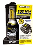 XADO Atomex, sigillante del sistema di raffreddamento, additivo per la rimozione delle perdite dal radiatore dell'automobile - Stop Leak Radiator, 250ml