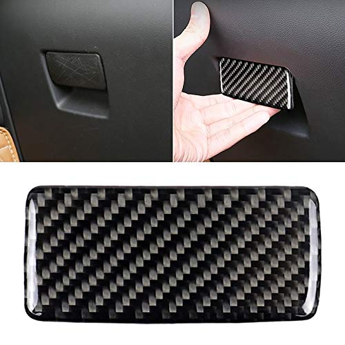 Konglz Productos para bebés Coche de Fibra de Carbono Caja de Herramientas de la manija de la Etiqueta engomada for Cadillac XT5 20162017 Productos para bebés