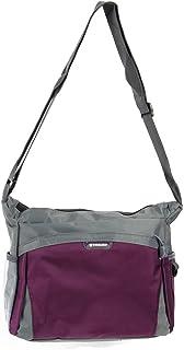 SODIAL Nylon shoulder bags women handbag casual bag Women messenger bags shopping travel handbags」ィPurple」ゥ
