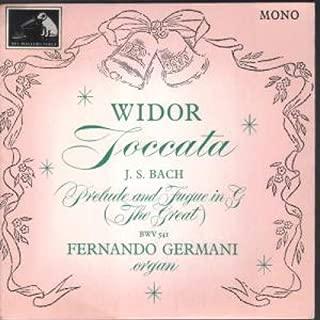 Widor - Toccata / J.s. Bach - Prelude and Fugue In G