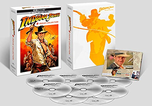 Colección Indiana Jones (4K UHD + BD) - BD [Blu-ray]