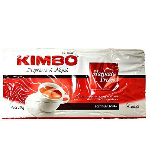 4 x 250g Kimbo Macinato Fresco