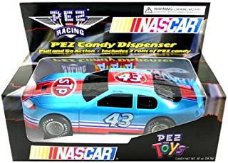 Pez Candy Dispenser Nascar Race Car Light Blue #43 Richard Petty