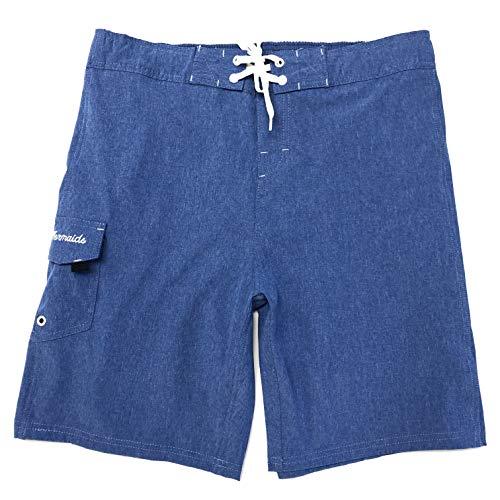 Maui Damen Badehose, Übergröße, Badeshorts, Boardshorts - Blau - 3X