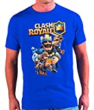 Mx Games Camiseta Clash Royale Rey (11 - 12 13 años)