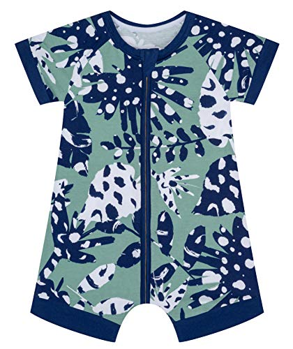 Dim Barboteuse Zip Cotton Stretch Conjunto de Pijama Unisex niños