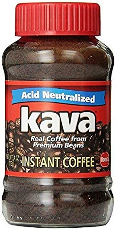 Kava Acid Neutralized Instant Coffee 4 Ounce Pack Of 3