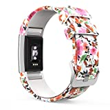 MoKo Bracelet Compatible avec Fitbit Charge 2, Watch Band de Remplacement Ajustable...
