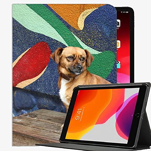 Caso en Forma de Nuevo iPad 8th Generation 10.2 '2020 / iPad 7th Gen 2019, Perrito Pequeño Pequeño Banco Caja Delgada Cubierta de cáscara para iPad 10.2 Pulgadas