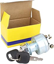 HKOO Caterpillar Ignition Switch with Keys, CAT Starter for Excavators, Dump Trucks, and Other Heavy Equipment - Tornado Heavy Equipment Ignition Switch 9G7641