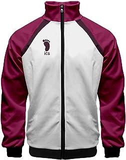 Best Topcos Adults Haikyuu Cosplay Jakcet High School Volleyball Club Uniform Costume Sportswear Zipper Coat Review