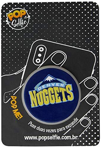 Apoio para celular - Pop Selfie - Original Nba Denver Nuggets Pp08, Pop Selfie, 155818, Branco