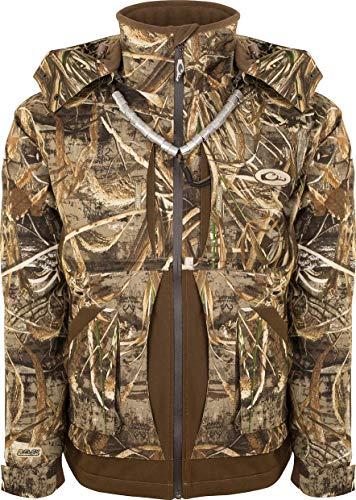 Drake Waterfowl Guardian Flex Full Zip Jacket - Fleece Lined Realtree Max-5 Medium