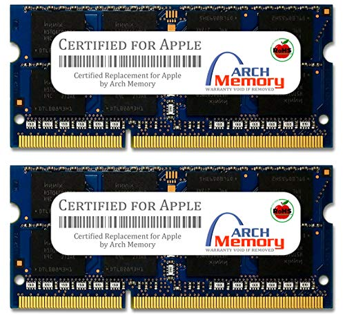 CERTIFIED FOR APPLE 8GB Kit (2 x 4GB) RAM Memory for MacBook Pro Mid-2009 Models MC226LL/A MC226LL/A DDR3-1066, PC3-8500, 204p SODIMM Upgrade