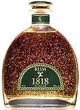 Cadeau Rhum Vieux XO 1818 Reserve - Republique Dominicaine Rum - Feuille d'or 23...