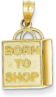tiffany shopping bag pendant