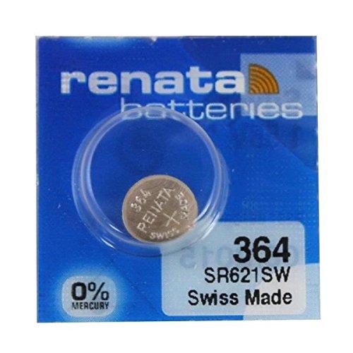 Renata Uhrenbatterie SP 364 ///;SR621SW (SR60,AG1,LR621,LR60,164);Sp1