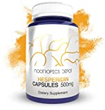Hesperidin Capsules   500mg   60 Count   90% Extract   Citrus aurantium   Supports Metabolic Function + Cardiovascular Health