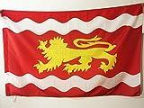 AZ FLAG Bandera de Lot Y GARONA 150x90cm para Palo - Bandera Departamento DE Lot Y GARONA - Francia 90 x 150 cm