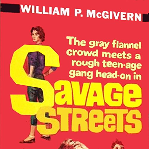 Savage Streets audiobook cover art