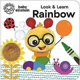 Look & Learn Rainbow (Baby Einstein) (Finger Puppet Book Baby Einstein)