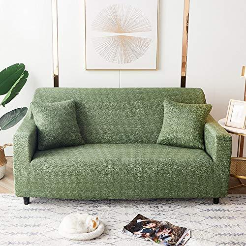 PPMP Fundas de sofá geométricas elásticas Fundas de sofá elásticas para Sala de Estar Funda de sofá Silla Funda de sofá Decoración para el hogar Funda de sofá A4 3 plazas