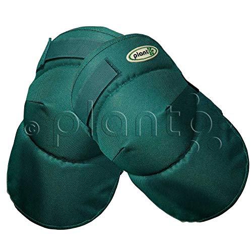 planto Komfort Knieschoner Knieschutzkissen Kniekissen Knieploster, Bester ergonomischer Schutz für Knie beim Arbeiten im Garten (1 Paar)