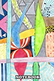 Notebook: Wonderful Mixture Of Geometric And Organic Shapes , Journal for Writing, College Ruled Size 6' x 9', 110 Pages