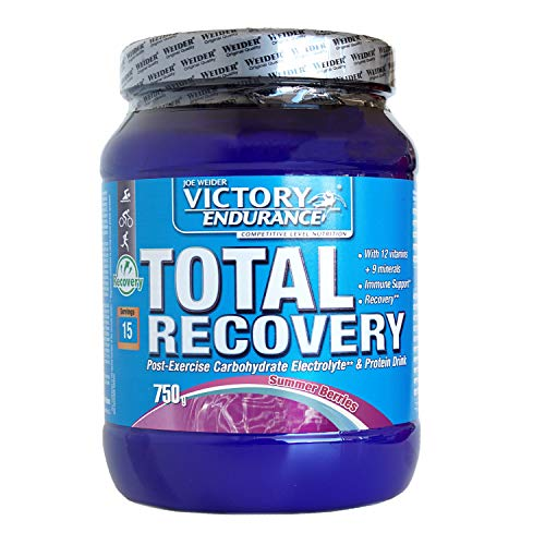 Victory Endurance Total Recovery. Maximizes Recovery After Training. Enriched with Electrolytes and Vitamins. Summer Berries Flavor (750 g)